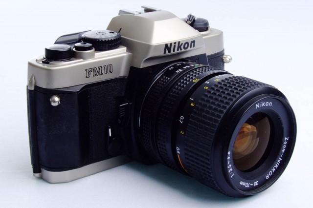 Nikon FM10, a versão popular da Nikon