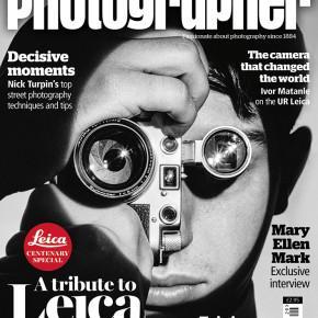 Leica, os 100 anos e a capa da Amateur Photographer